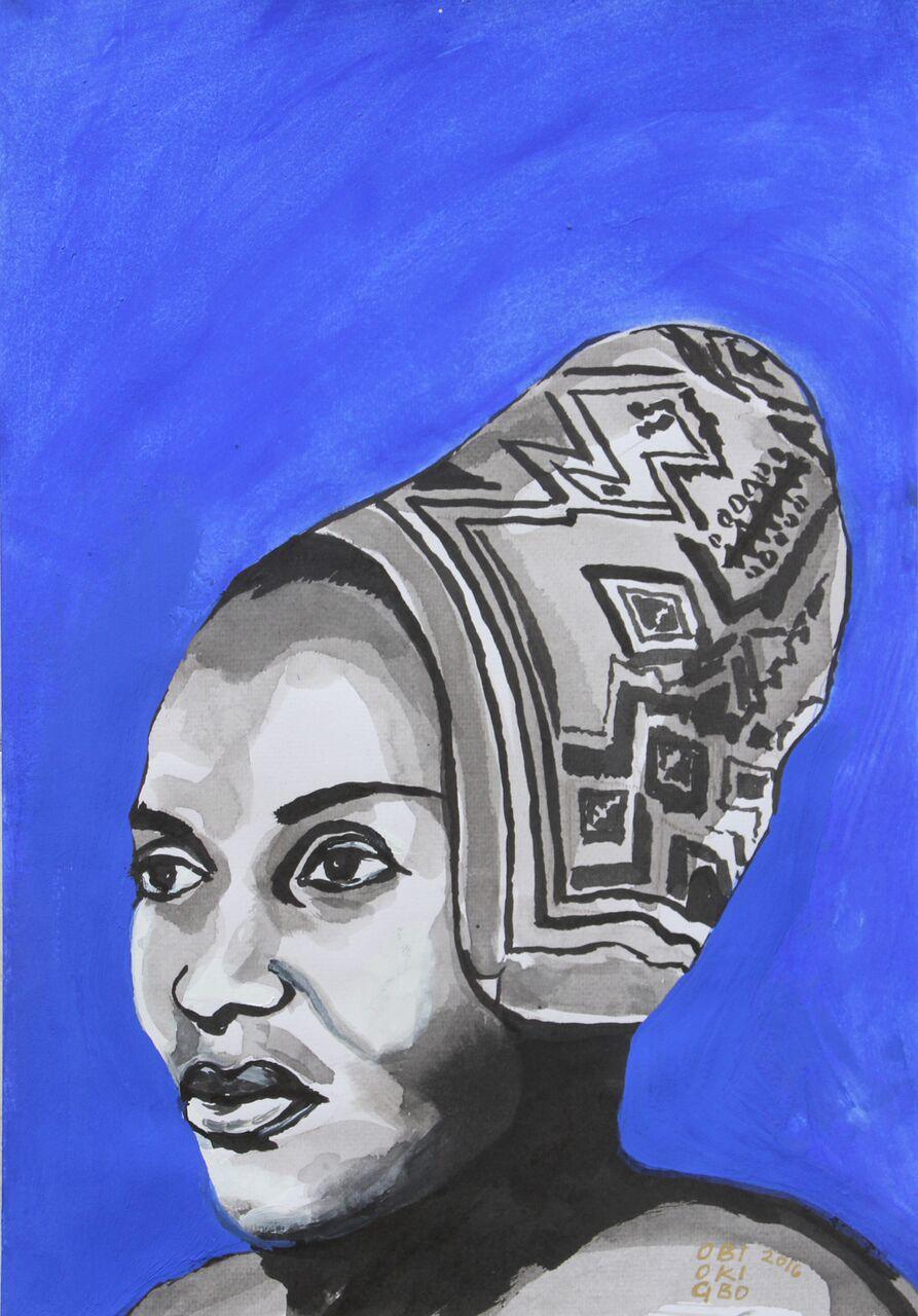 "MIRIAM MAKEBA ""MAMA AFRICA"" Portraits by Obiageli Okigbo"