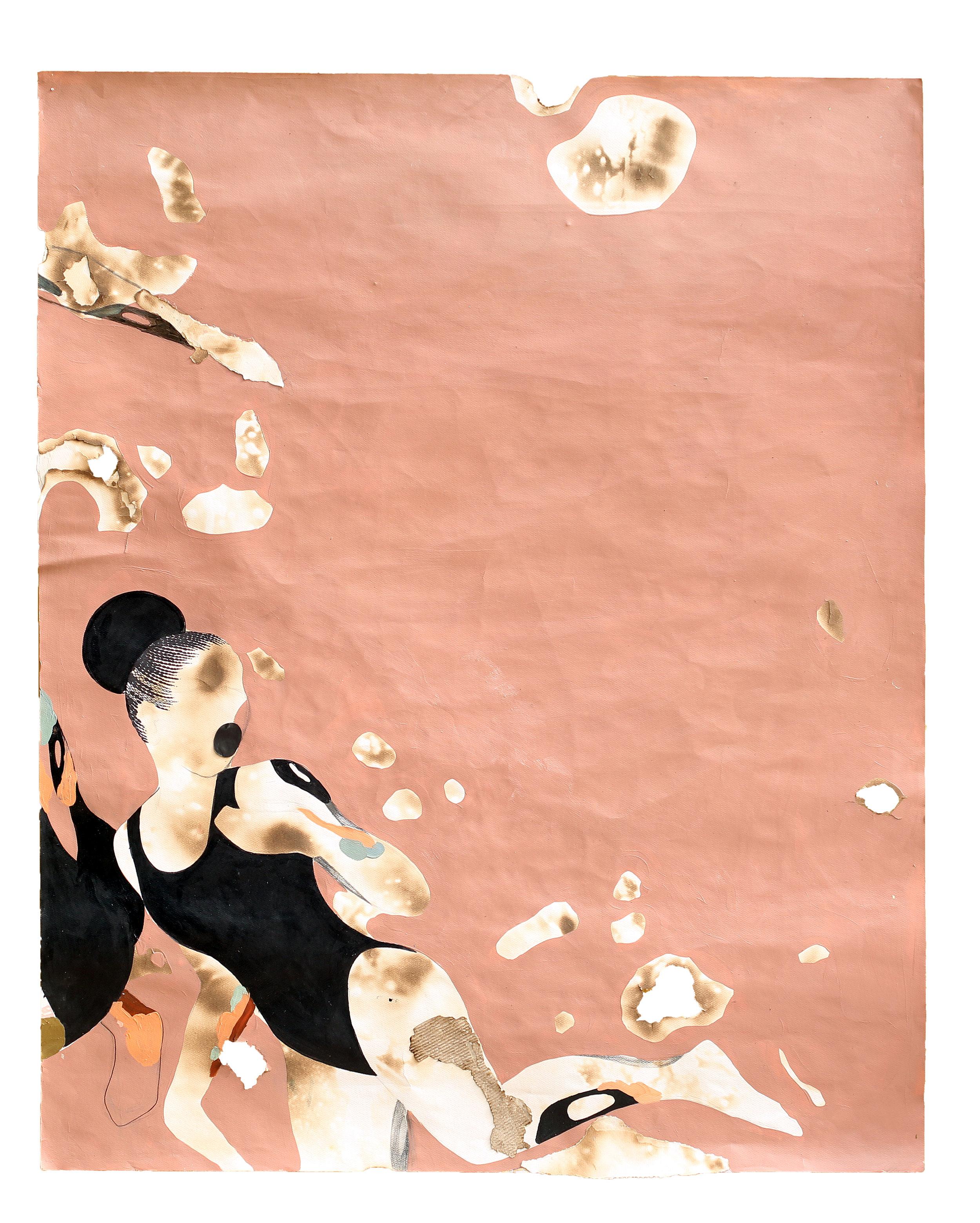 Pink Lake that looked Black II by Modupeola Fadugba