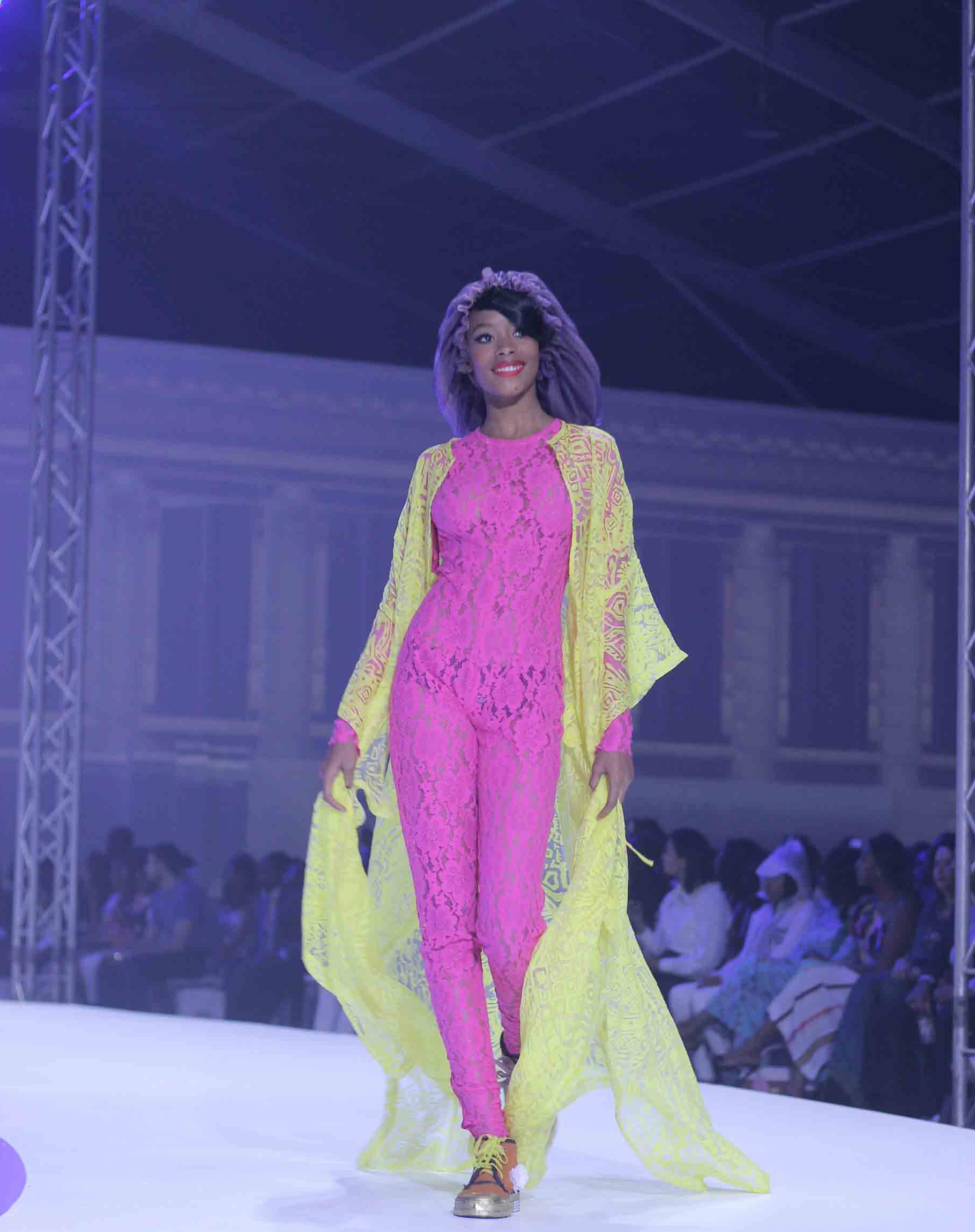FLUROSCENT LACE - ITUEN BASIThe neon trend is here to stay! Zingy shades of lime, lemon, tangerine and fuchsia were evident at all four cities (revert to our SS19 fashion report). Keep it feminine by purchasing these punchy colors in lace.