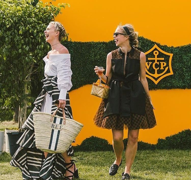 ALL ABOUT THAT BASS. - Basket bags are a trend that don't seem to be going anywhere and are the go-to arm-candy of choice at Polo events. Small is in, Bulky is out - all you need is a rattan bag big enough for a phone, make-up and a small electric fan.
