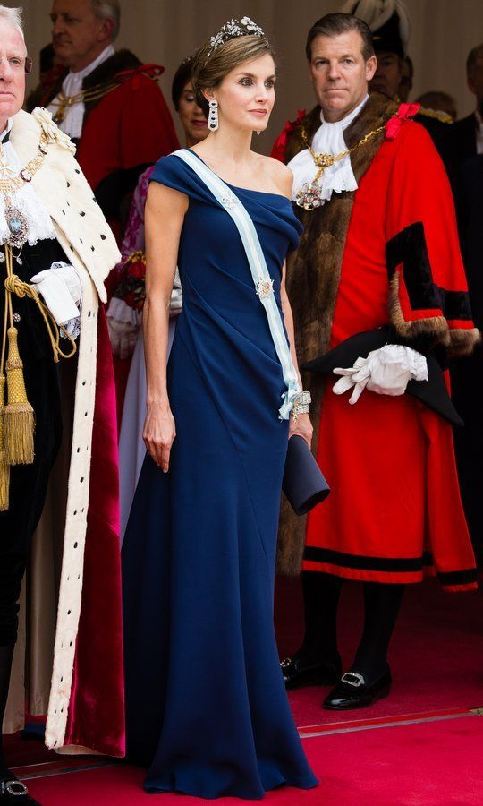 Letizia Ortiz Rocasolano is the current Queen of Spain as the wife of King Felipe VI. Letizia Ortiz came from a middle-class family and worked as a journalist for ABC and EFE before becoming a news anchor at CNN+ and Televisión Española.