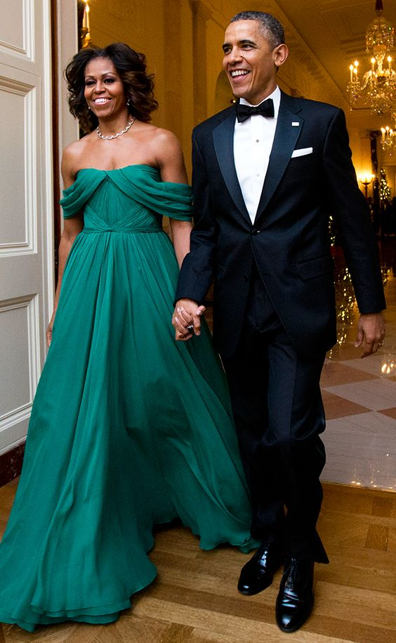 Michelle LaVaughn Robinson Obama is an American writer, lawyer, and university administrator who was First Lady of the United States from 2009 to 2017. She is married to the 44th U.S President Barack Obama, and was the first African-American First Lady.