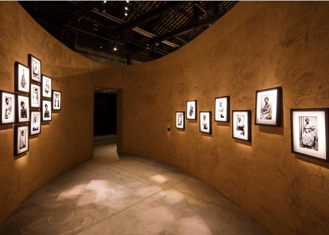 Portraits by Felicia Abban, walls designed by David Adjaye.  Photo credit: @luxenoirmag