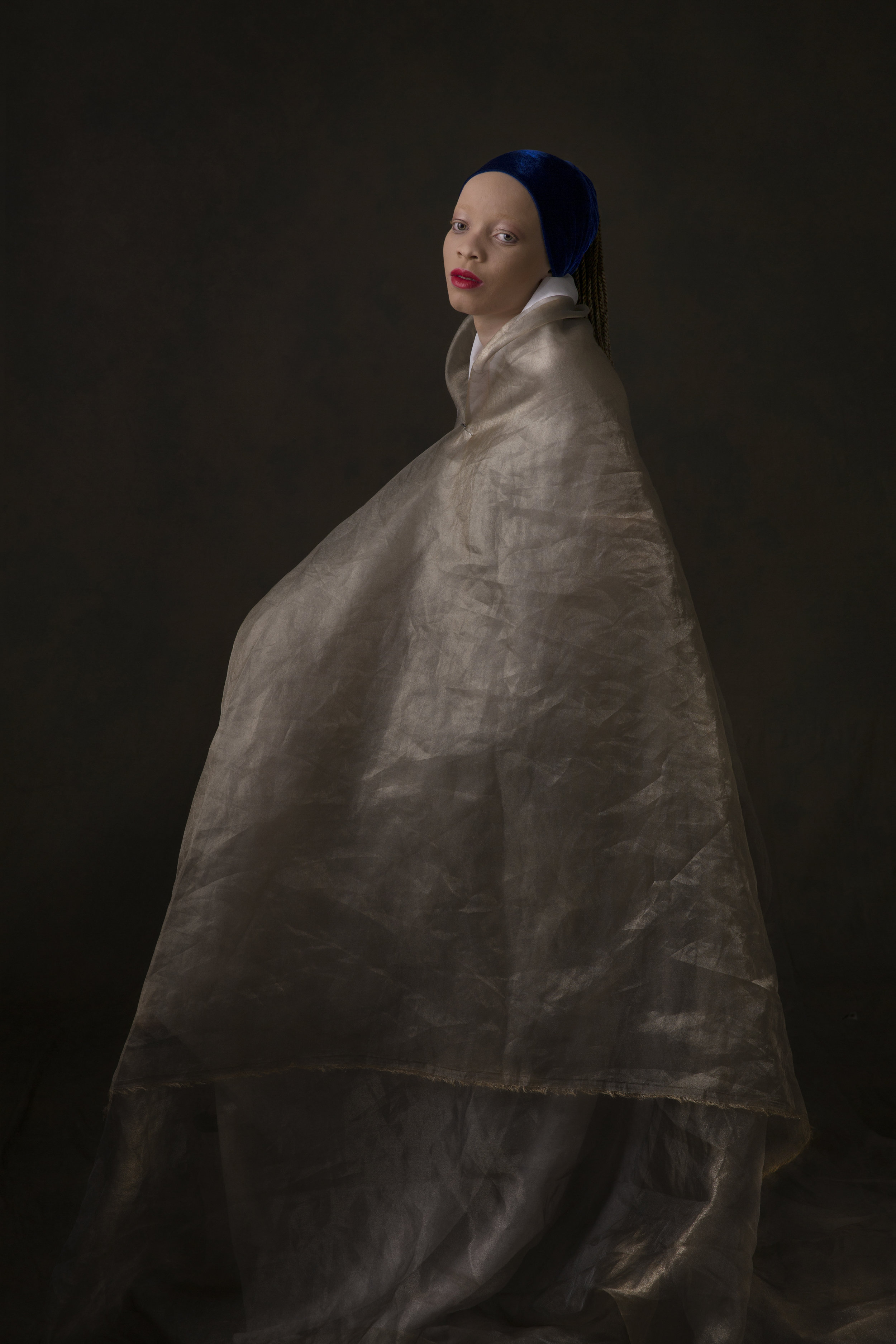 The Girl With Blue Scarf By Yetunde Ayeni-Babaeko