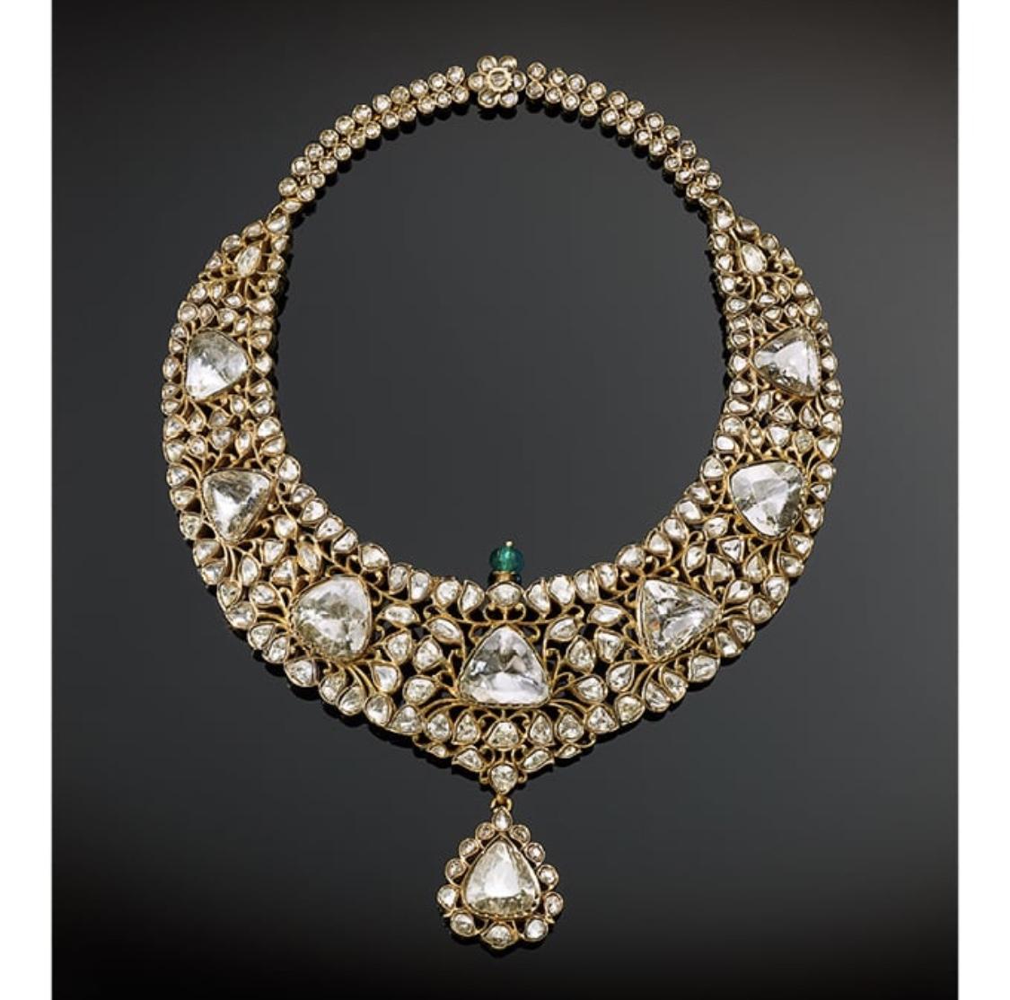 Nizam of Hyderabad Necklace.  Photo source: christies.com