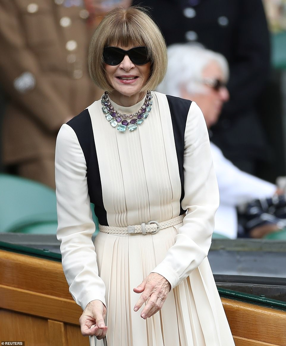 Anna Wintour. Photo Source: Daily Mail.