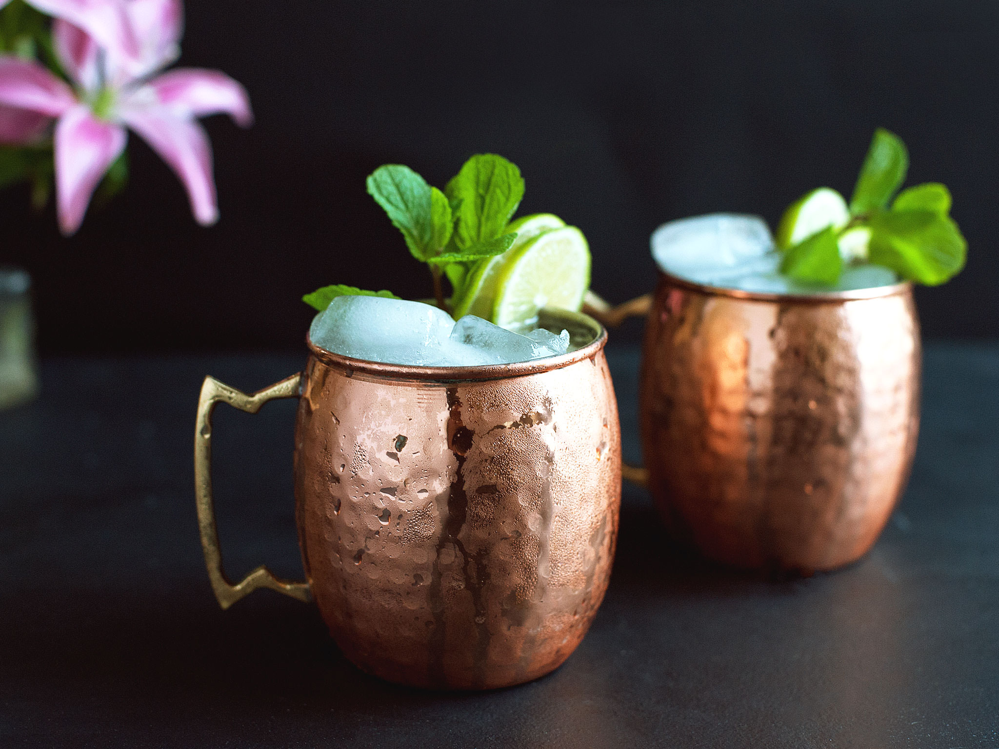 Moscow Mules. Photo Source: Kitchen Stories.