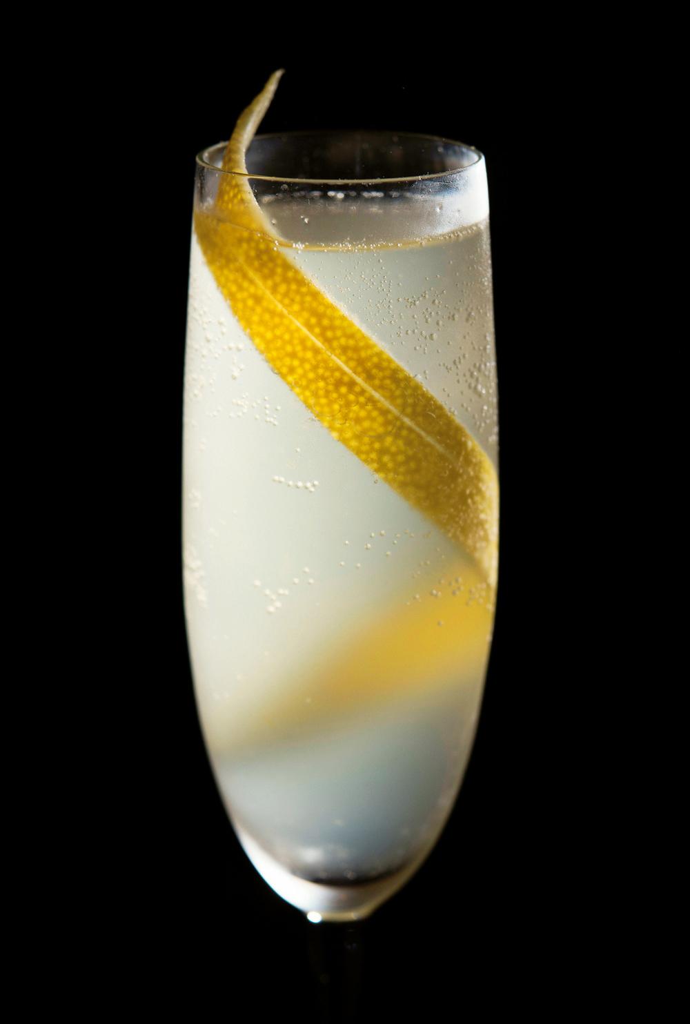 The French 75. Photo Source: Australian Bartender.