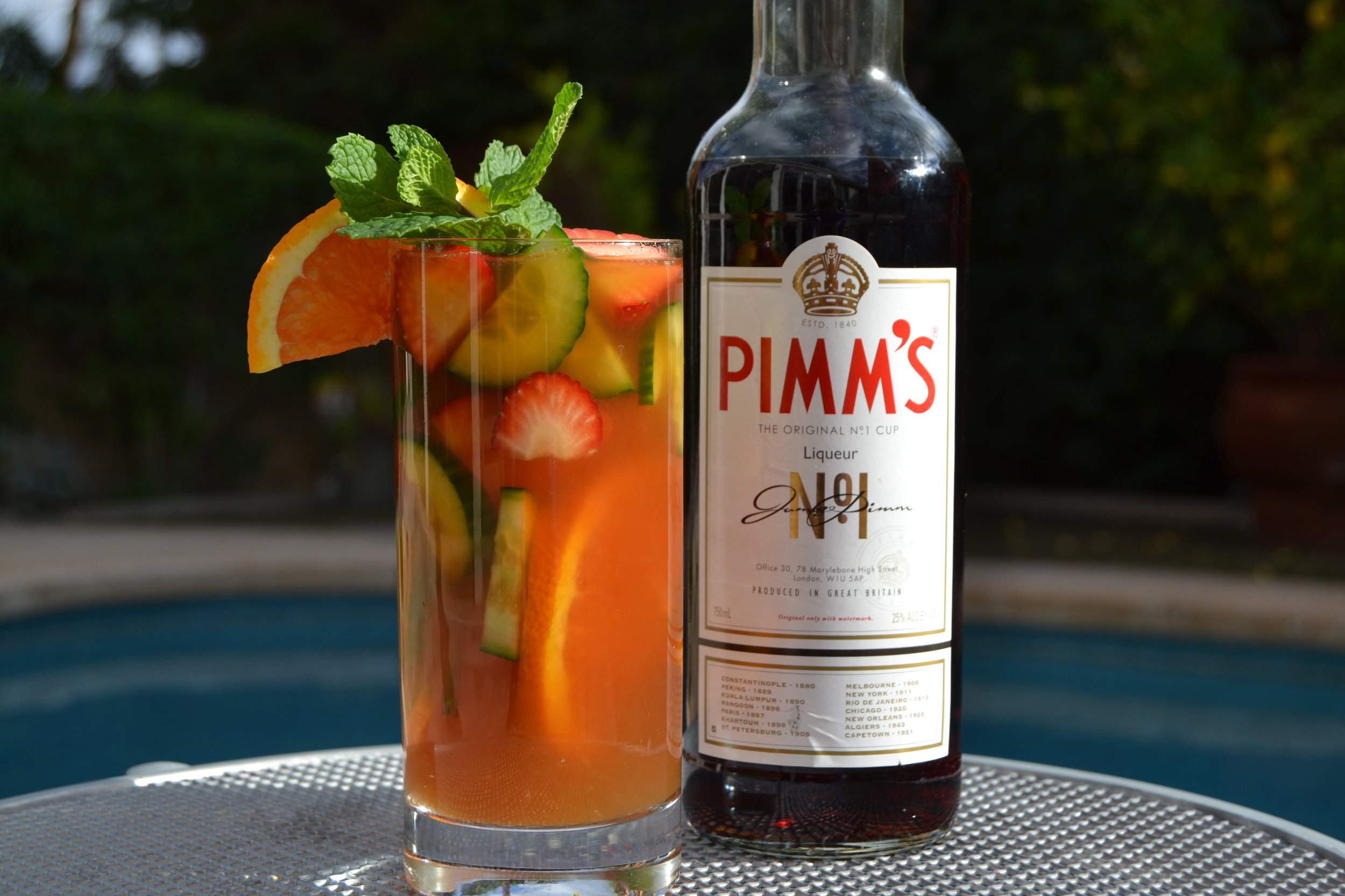Pimm's Cup. Photo Source: Christy Major.