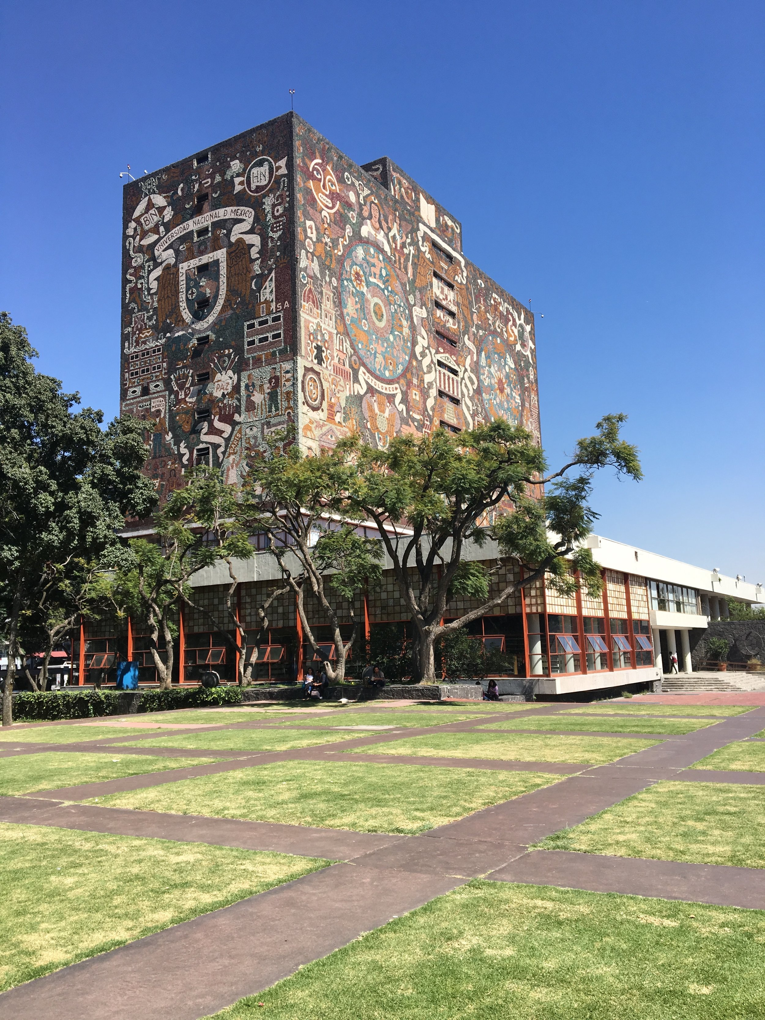 UNAM Central Library. Photo Credit: Contemporary Art Daily.