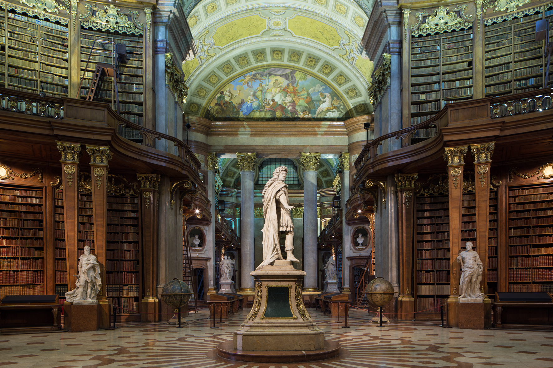 Austrian National Library. Photo Source: Onb.ac.at.
