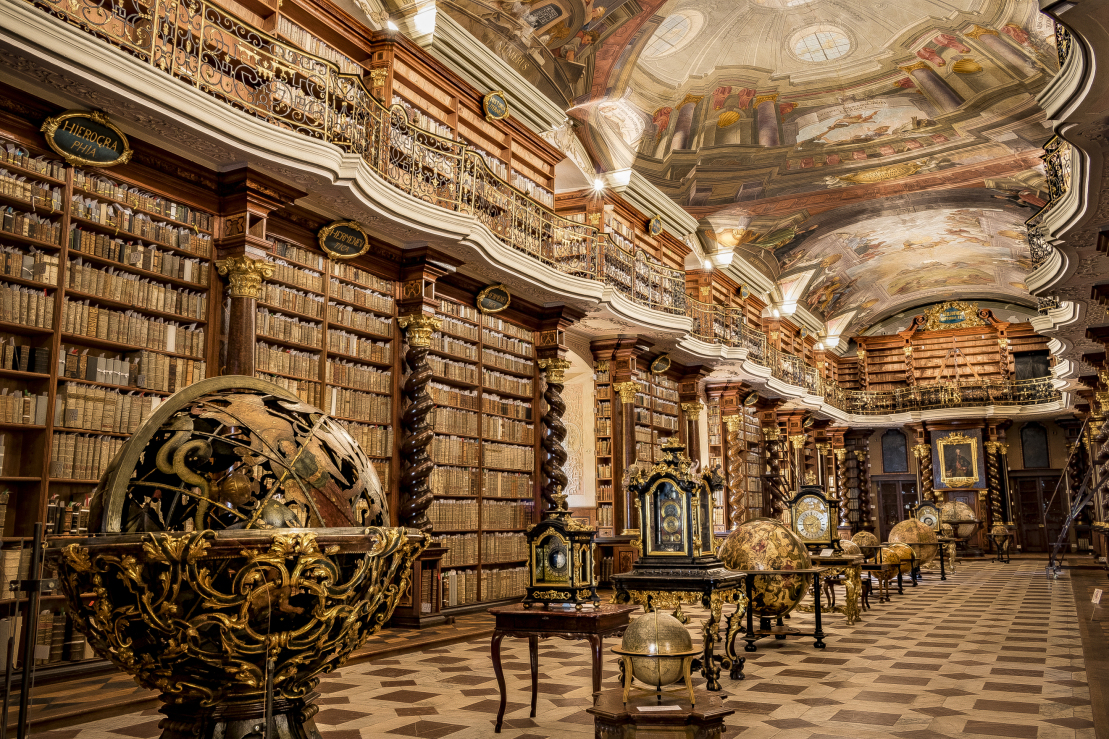 Klementinum Library. Photo Source: Lonely Planet.