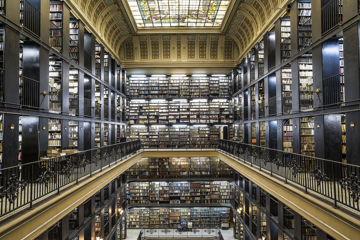 National Library of Brazil. Photo Source: Bibliotheca Sanctus.