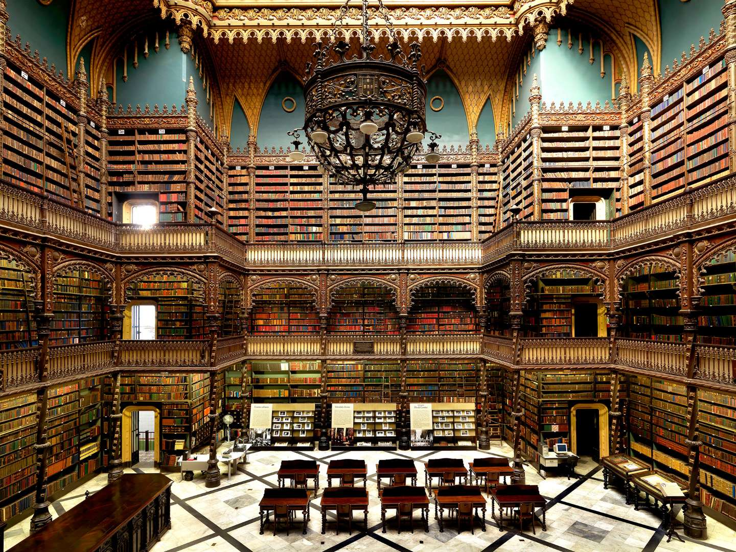 Royal Portuguese Reading Room. Photo Source: MSN.com.