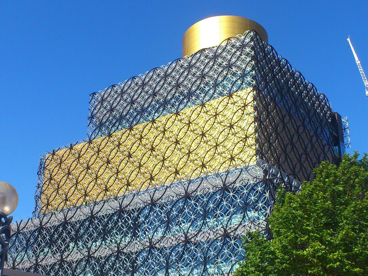 Library of Birmingham. Photo Source: Birmingham Mail.