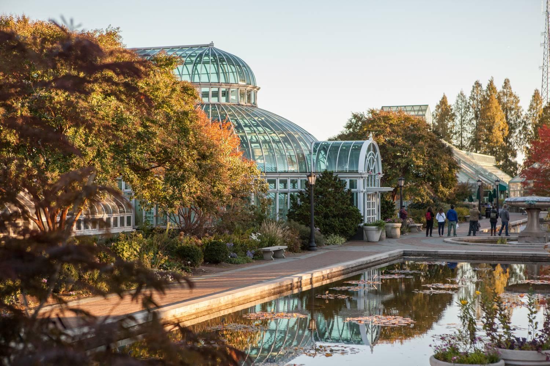 Brooklyn Botanic Garden. Credit: NYCGo