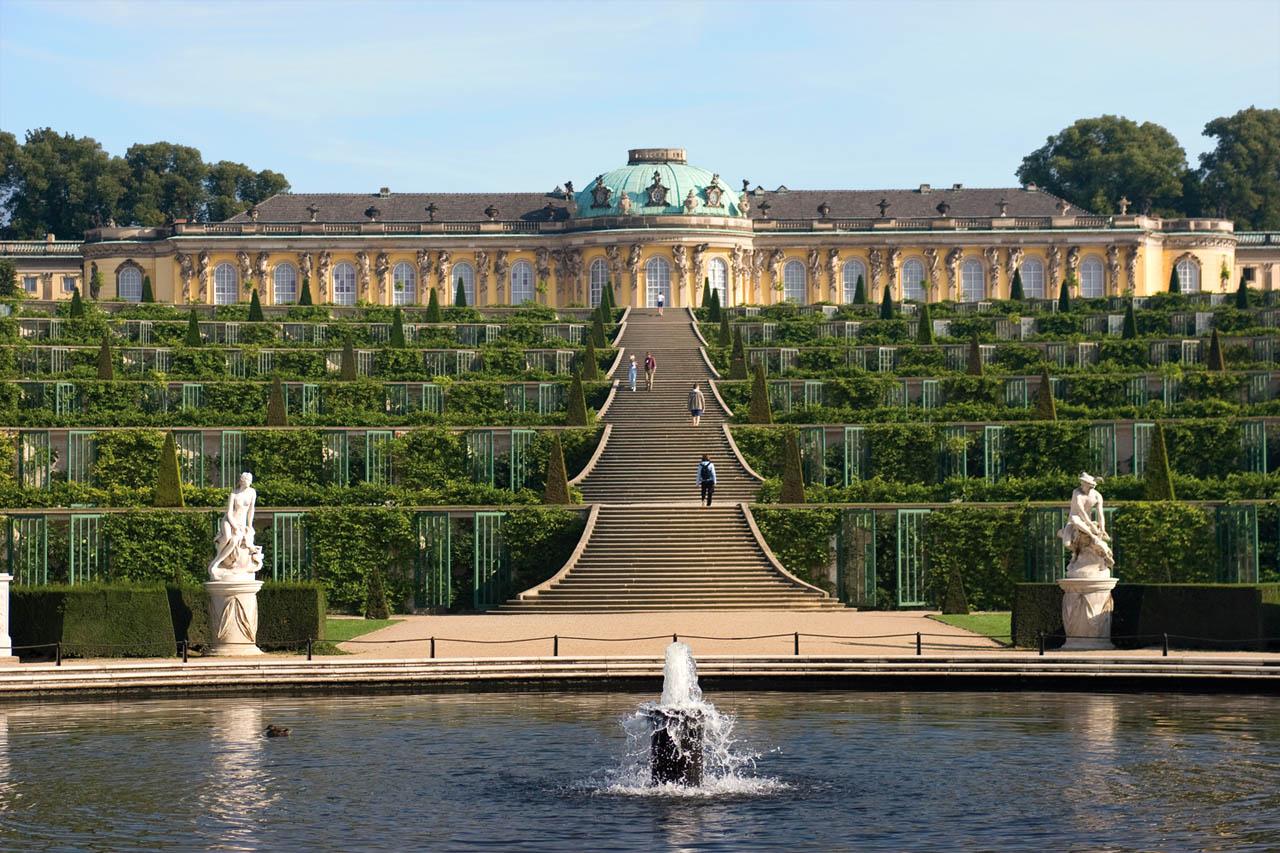 Sanssouci Park. Credit: German Travel