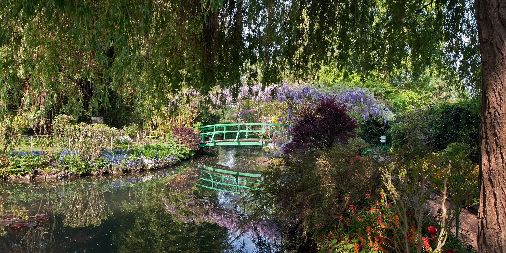 Claude Monets Garden. Credit: Paris By M
