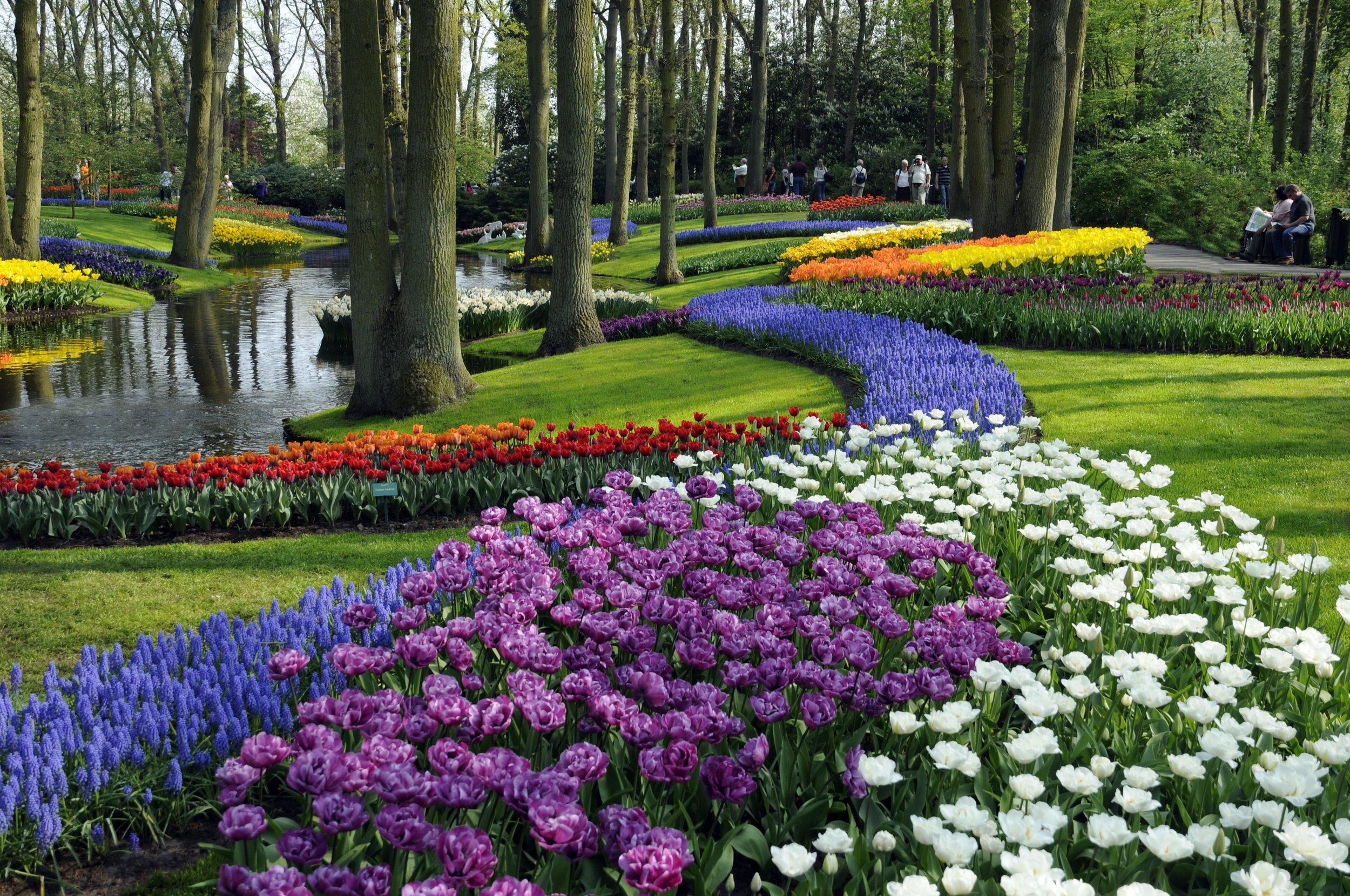Keukenhof Garden. Credit: Netherlands Tourism.com
