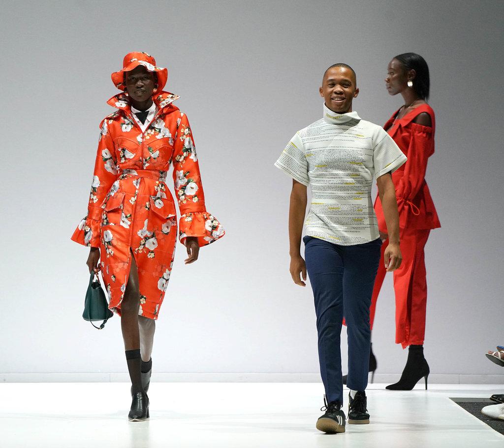 Thebe Magugu. Photo Source: LVMH prize winner