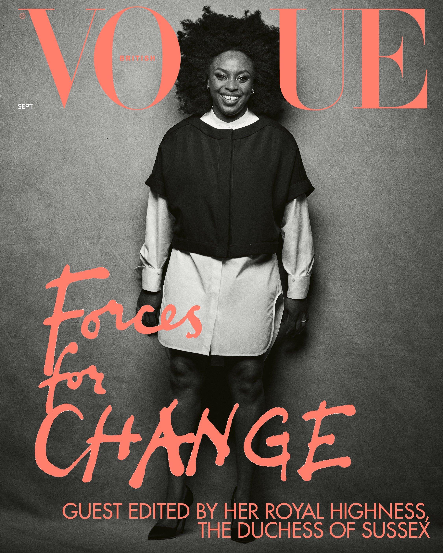 Chimamanda Adichie. Photo Source: Vogue