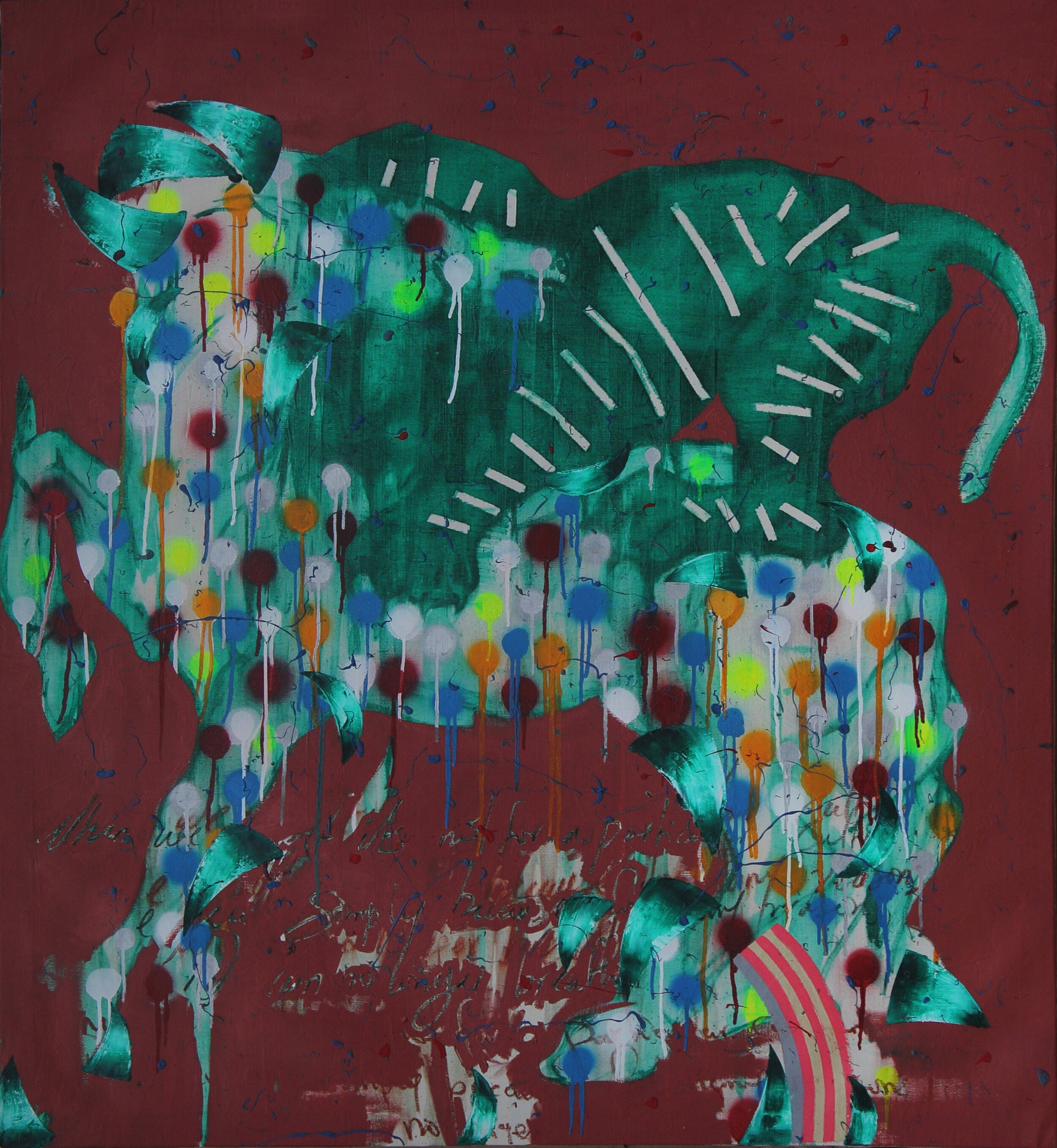 Untitled (Lion and Horse)