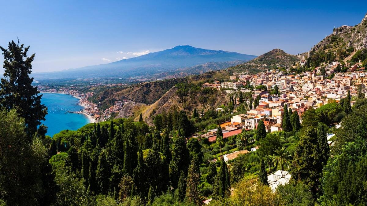 Taormina, Sicily. Photo Source: The National
