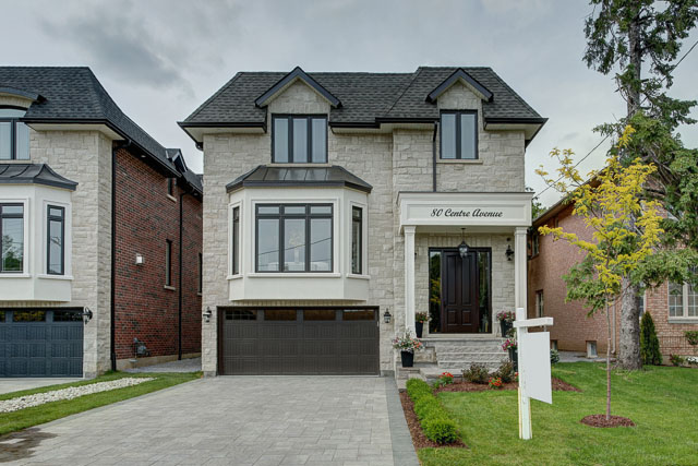North York transitional custom home