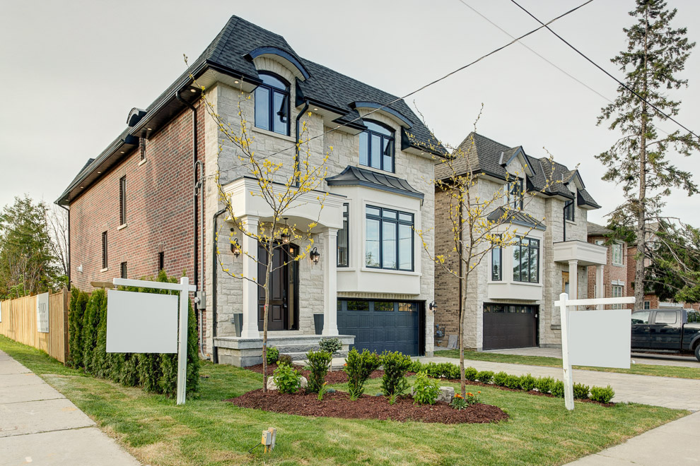 North York transitional custom homes