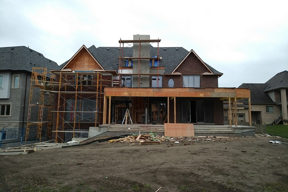 Richmond Hill transitional custom home
