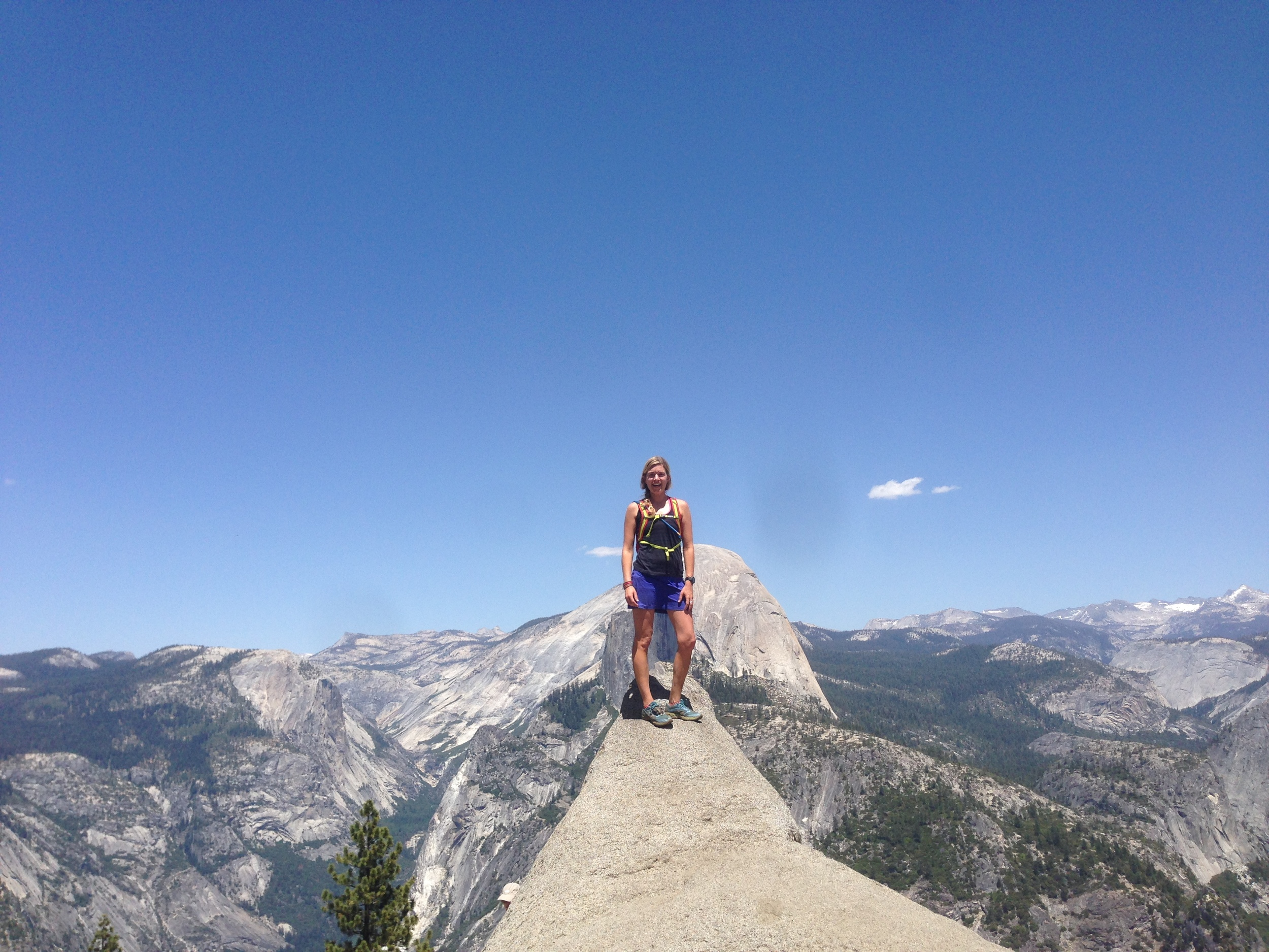 Glacier Point with a view of Half Dome, Yosemite National Park