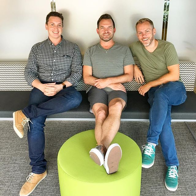 Mobile Product Manager, Dan Driscoll, Software Events Coordinator, Layne Box and Engineering Manager Andy Kearney served on the 2017 HackOut leadership team.
