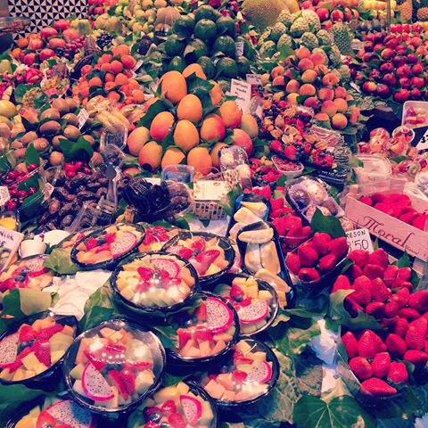 Foodie Heaven! La Boqueria Mercat in Barcelona, Spain