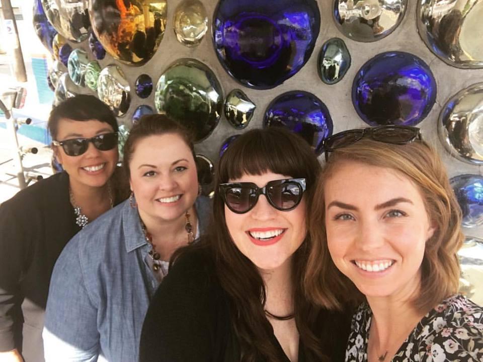 Kat and team at Spredfast Summit in Austin.
