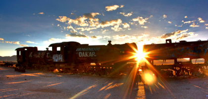 Sunrise in a forgotten corner of Bolivia.