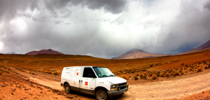 Lost badlands of Bolivia.