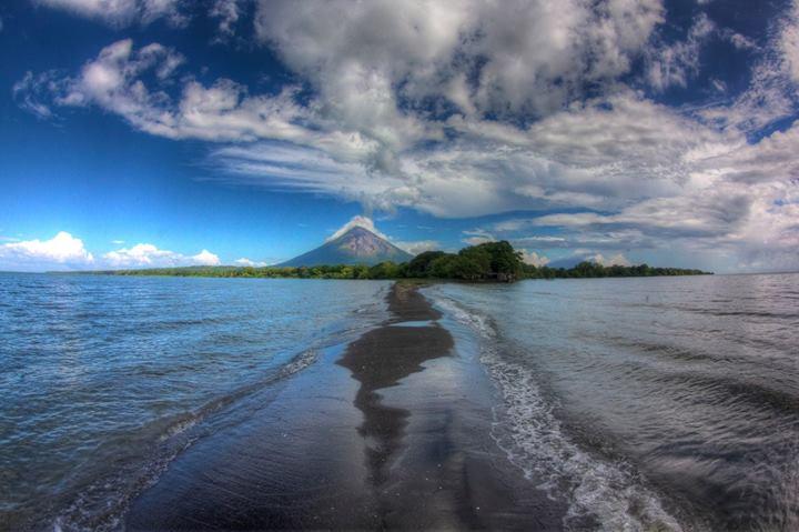 Ometepe island in the Lake Nicaragua.