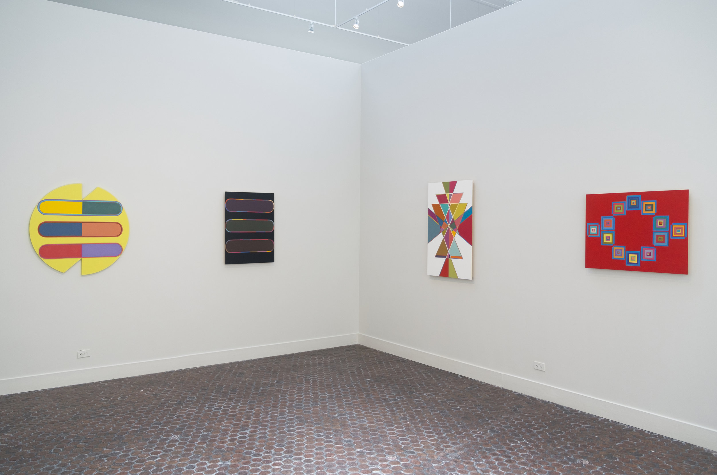 Installation view: American Academy of Arts and Letters, NYC.2017