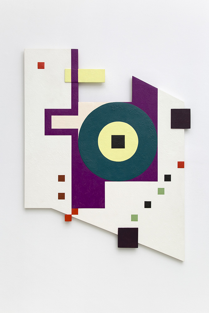 Marilyn Lerner   Harmony of Elements and Directions , 1988  Oil on wood  51 x 37 1/2 inches