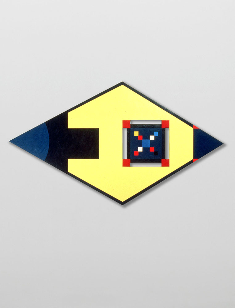 Marilyn Lerner   Jaipong,  1989  Oil on wood  48 x 72 inches
