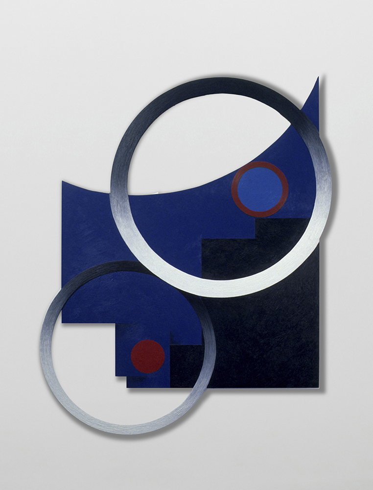 Marilyn Lerner   Untitled,  1988  Oil on wood  51 x 41 inches