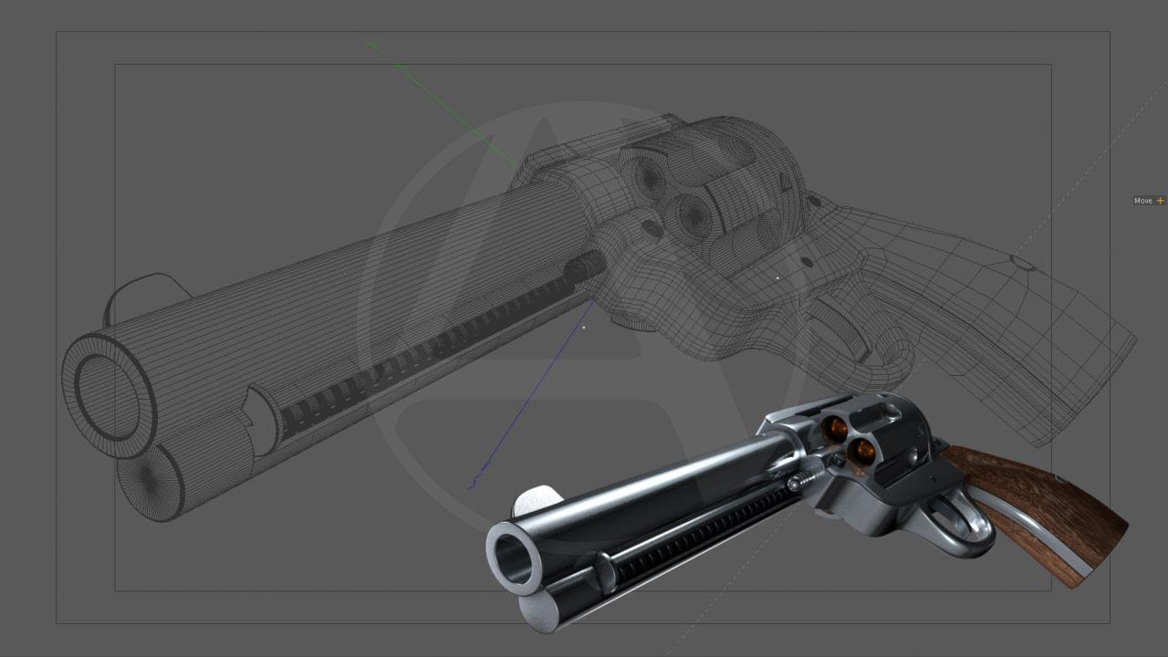 western pistol model wires.jpg
