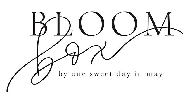 "One of my favorite creatives and a good friend of mine, @onesweetdayinmay, is launching a really fun floral service soon for those located in the Richmond area! I was thrilled when she emailed me asking to design a logo for her then ""top secret"" project. A mix of a classy serif font with a touch of calligraphy is always a great combination, in my opinion. #sincerelyamylogos #sincerelyamydesigns #onesweetsecret"