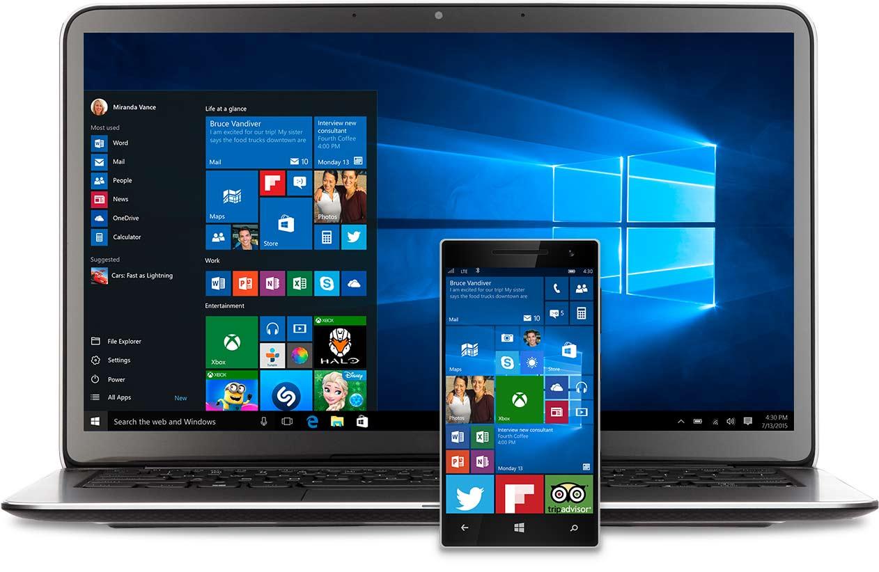 Windows 10 vs Windows 8