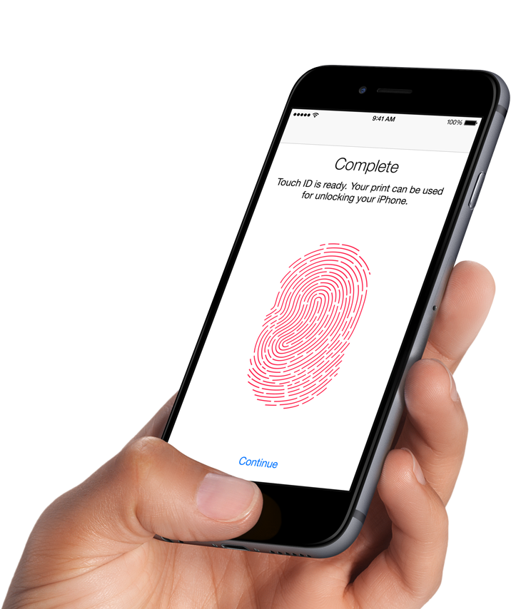iPhone 6 Biometric Touch