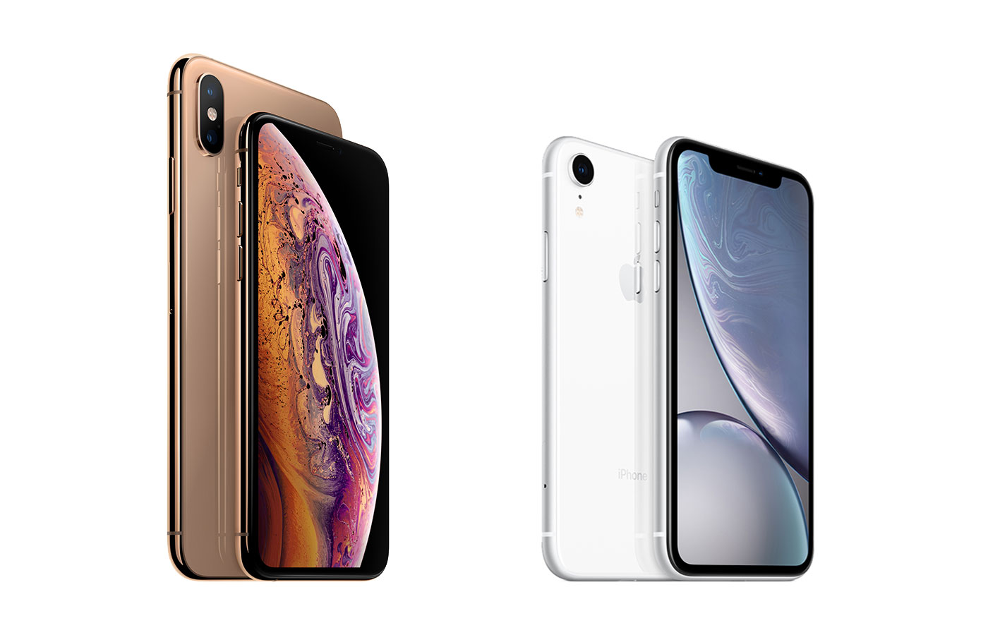Image Source: Apple, via Engadget: https://www.engadget.com/2018/09/12/apple-iphone-xs-xs-max-xr-compare/
