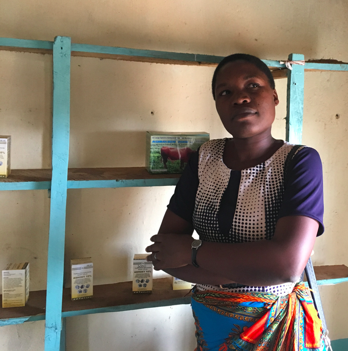 Grace discusses her business strategy and social impact goals inside her newly opened shop.