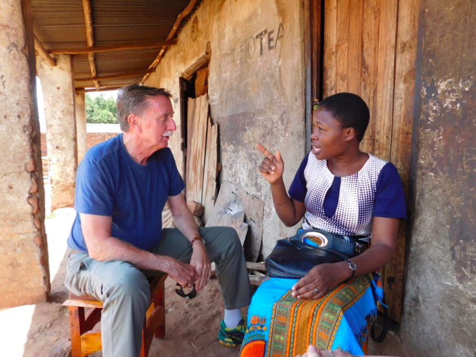 Grace explains the complexities of livestock farming in the central region of Malawi.
