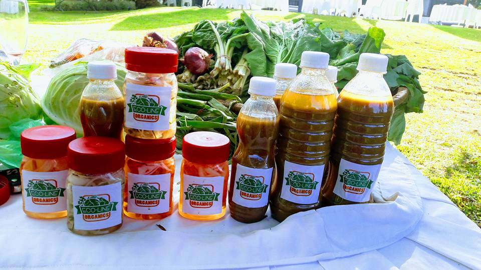 Eco-Line Organics are made from organic and indigenous fruits and vegetables grown on Mphatso's farm.