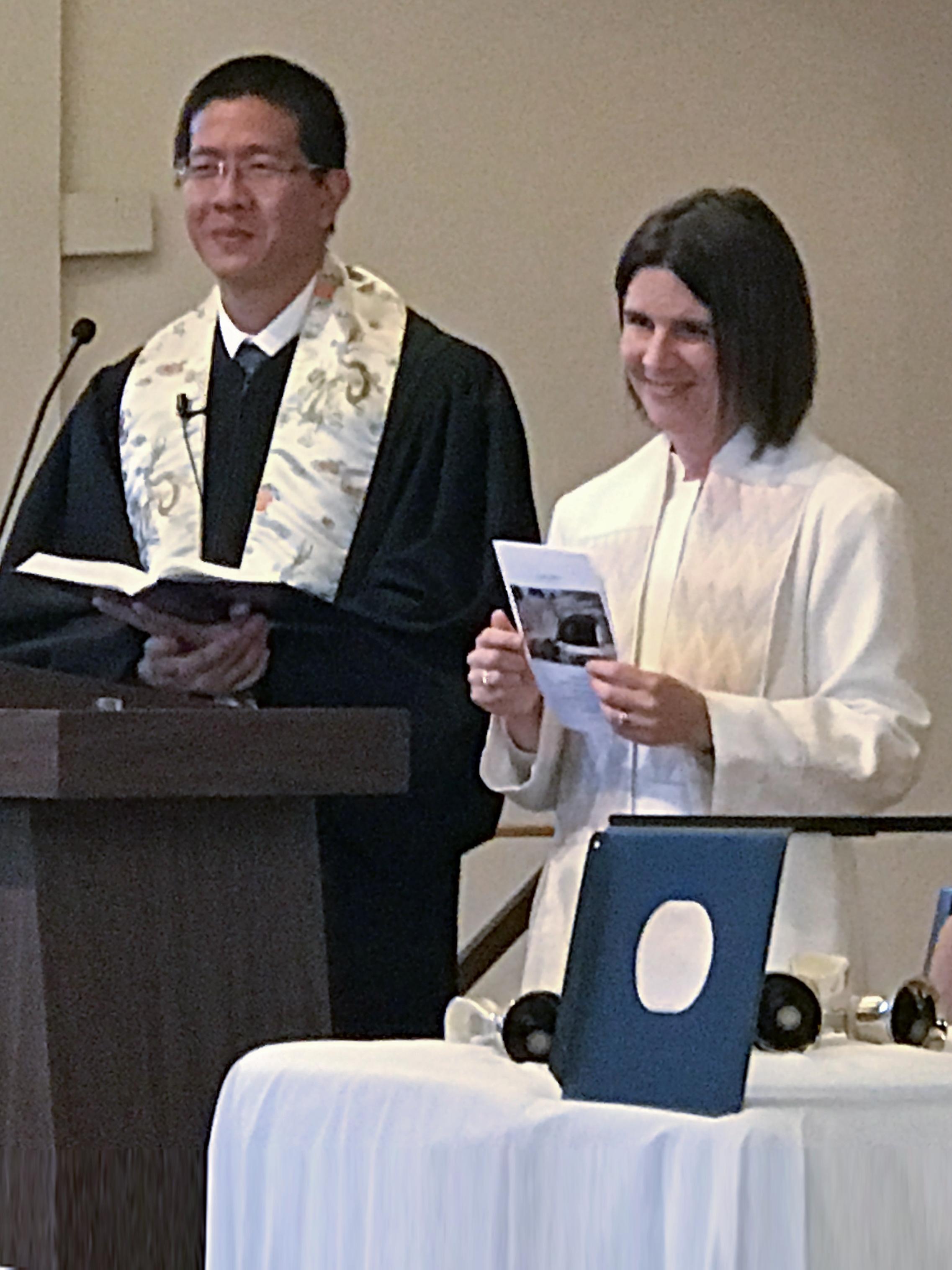 Revs Andy Wong and Lindsay Woods Wong